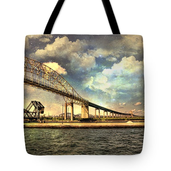International Bridge Sault Ste Marie Tote Bag