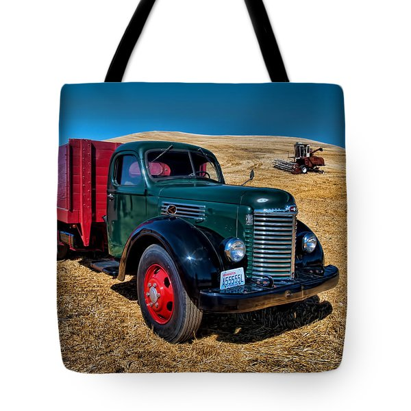 International Farm Truck Tote Bag