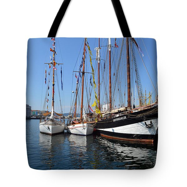 International Sailing Festival In Bergen Norway 2 Tote Bag