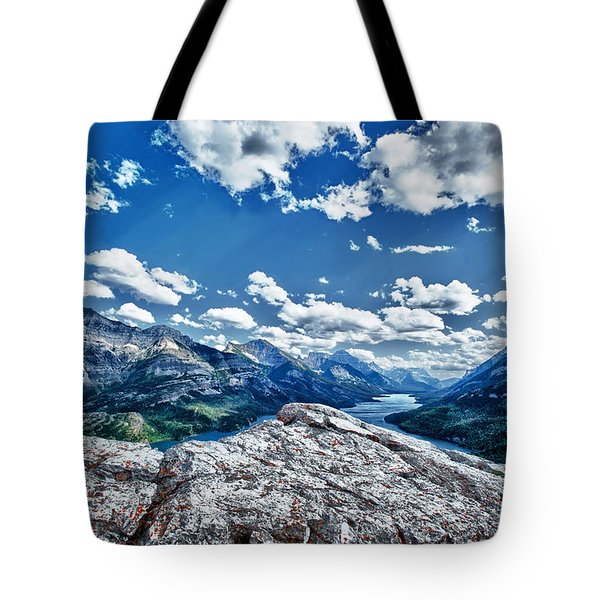 International Vista Tote Bag by Renee Sullivan
