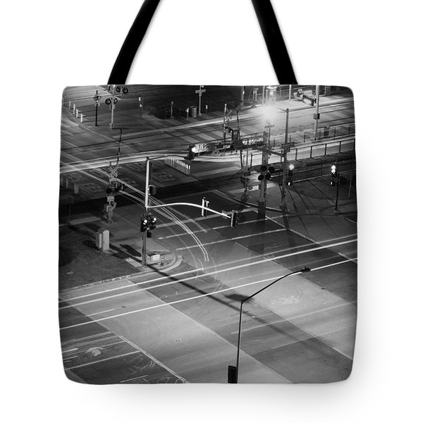 Tote Bag featuring the photograph Intersection by Heidi Smith