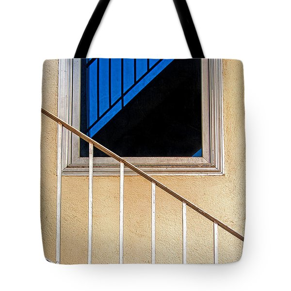 Intersection Of Real And Reflection  Tote Bag