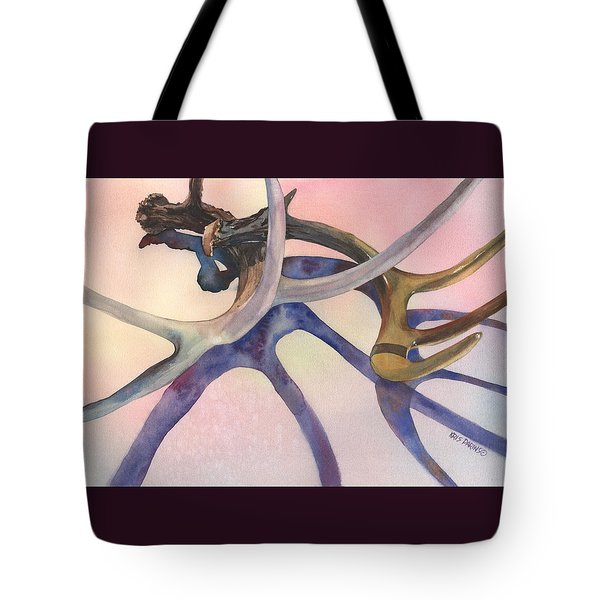 Intersections Tote Bag by Kris Parins