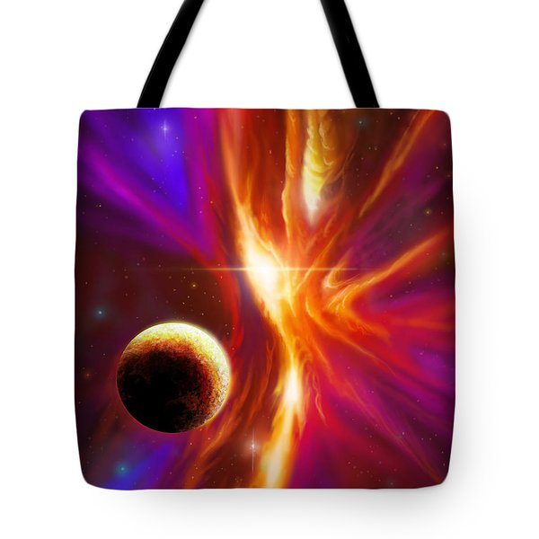 Intersteller Supernova Tote Bag by James Christopher Hill