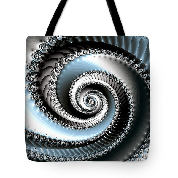Intervolve Tote Bag by Kevin Trow