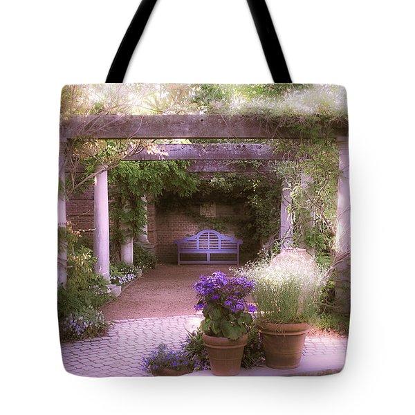 Intimate English Garden Tote Bag