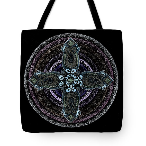 Tote Bag featuring the painting Into One's Highest by Keiko Katsuta