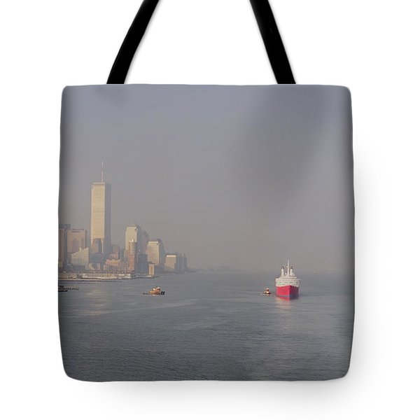 Into Port Tote Bag by Joann Vitali