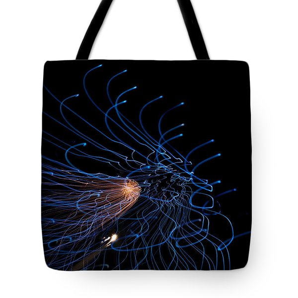Into The Abyss Tote Bag by Lisa Knechtel