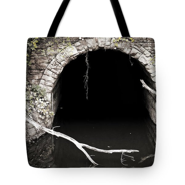 Into The Black Tote Bag