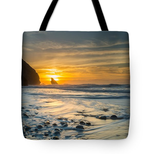 Into The Blue I Tote Bag by Marco Oliveira