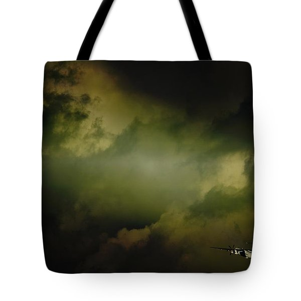 Into The Clouds Tote Bag by Paul Job