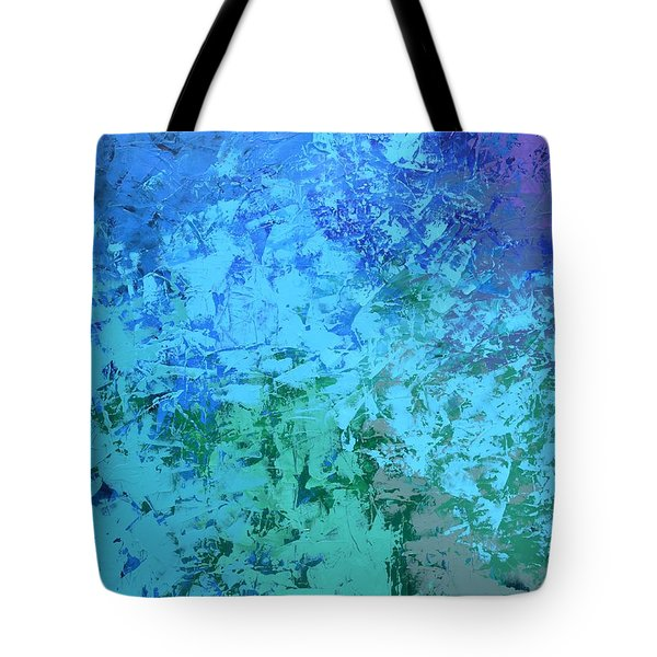 Into The Deep Blue Sea Tote Bag