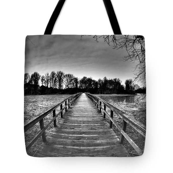 Into The Distance Tote Bag