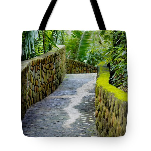 Into The Jungle Tote Bag by Aged Pixel