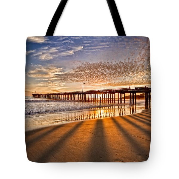 Into The Light Tote Bag by Alice Cahill