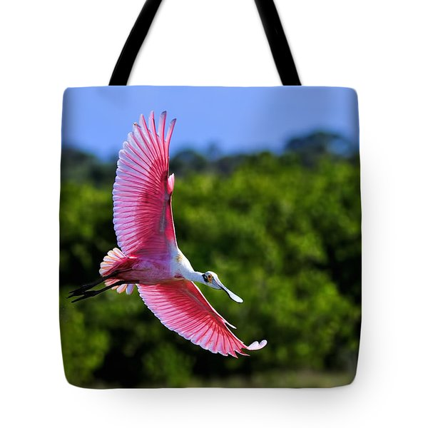 Into The Morning Light Tote Bag