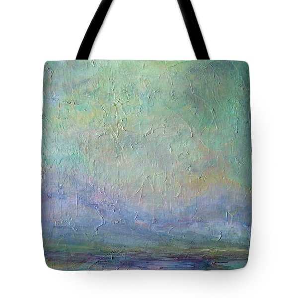 Into The Morning Tote Bag