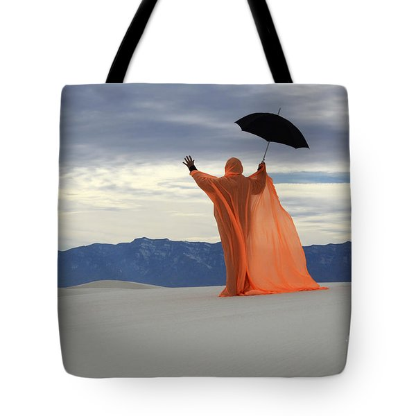 Into The Mystic 3 Tote Bag by Bob Christopher