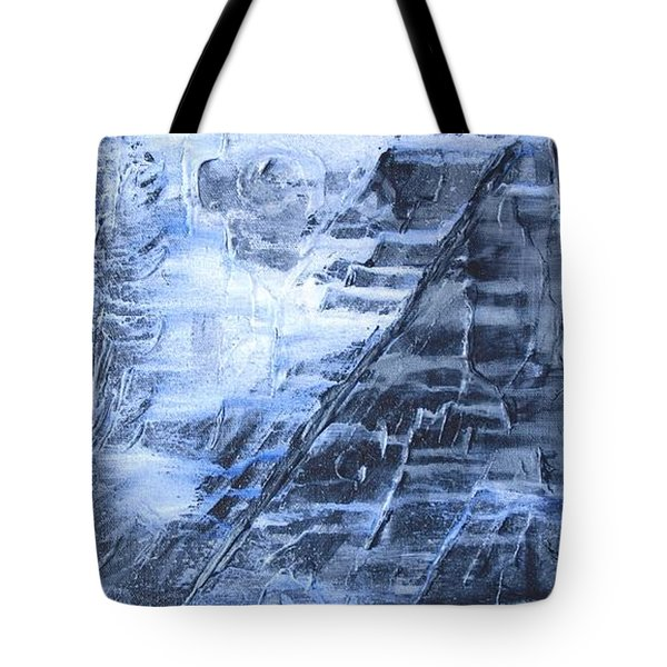 Tote Bag featuring the photograph Into The Mystic by Susan  Dimitrakopoulos