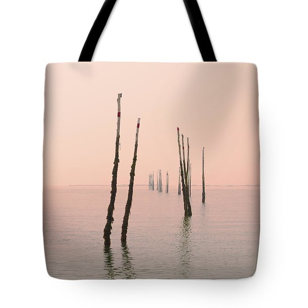 Into The Pink Sunset... Tote Bag