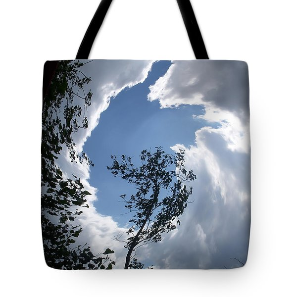Into The Sky Tote Bag by Aimee L Maher Photography and Art Visit ALMGallerydotcom