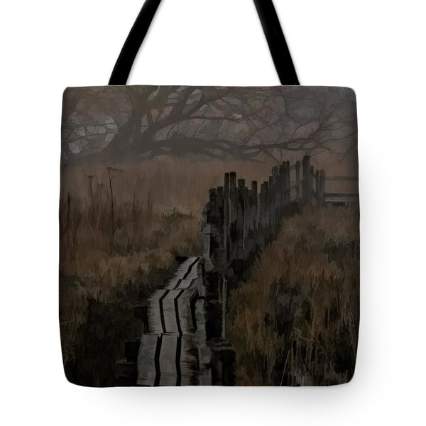 Tote Bag featuring the photograph Into The Unknown  By Leif Sohlman by Leif Sohlman