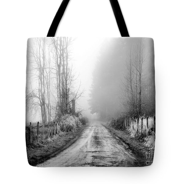 Into The Unknown Tote Bag by Rory Sagner