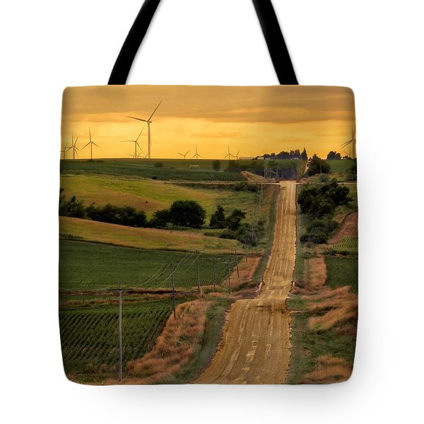 Into The Wind Tote Bag by Nikolyn McDonald