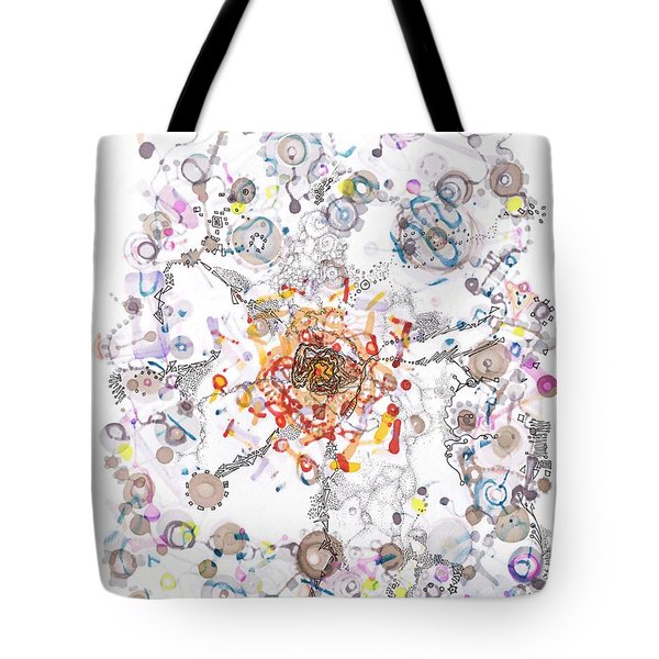 Intracellular Diversion Tote Bag
