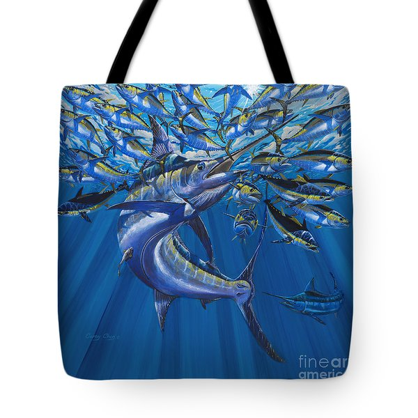 Intruder Off003 Tote Bag by Carey Chen