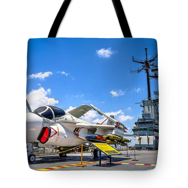 Intruder On The Lexington Tote Bag by Tim Stanley