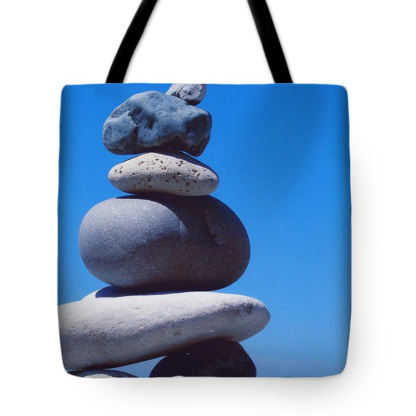 Inukshuk 1 By Jammer Tote Bag by First Star Art