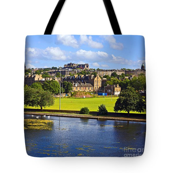 Inverleith Park Edinburgh Tote Bag