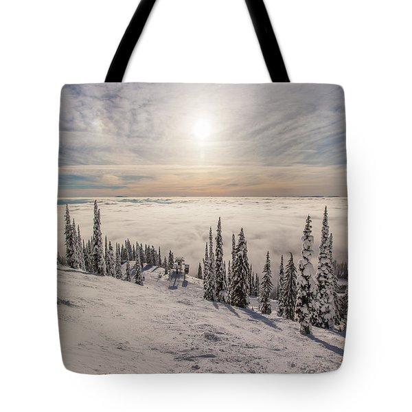 Inversion Sunset Tote Bag