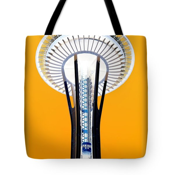 Inverted Needle Tote Bag by Chris Anderson