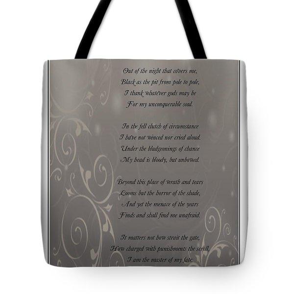 Invictus Tribute 2 Tote Bag