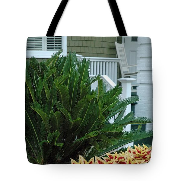 Inviting Front Porch Tote Bag