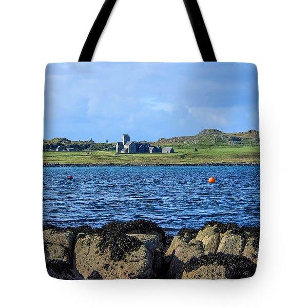 Iona Abbey Isle Of Iona Tote Bag