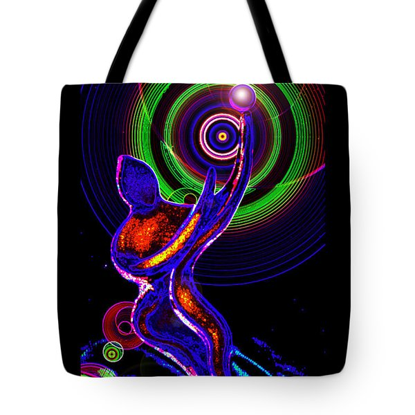 Ionic Wheels Of Rarefied Eternities Tote Bag