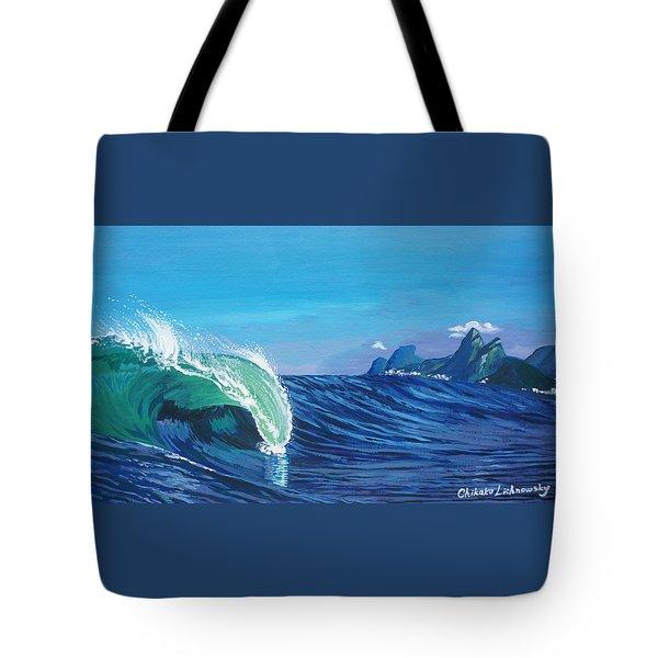 Ipanema Beach Tote Bag by Chikako Hashimoto Lichnowsky