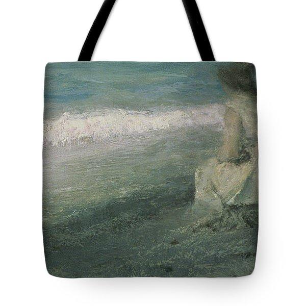 Iphigenia At Tauris Tote Bag by Valentin A Serov