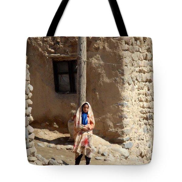 Iran Kandovan Resident  Tote Bag by Lois Ivancin Tavaf