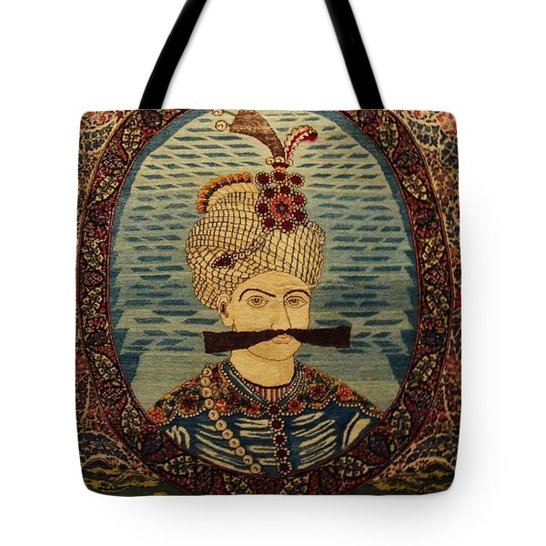 Iran King Abbas Carpet Museum Tehran Tote Bag by Lois Ivancin Tavaf