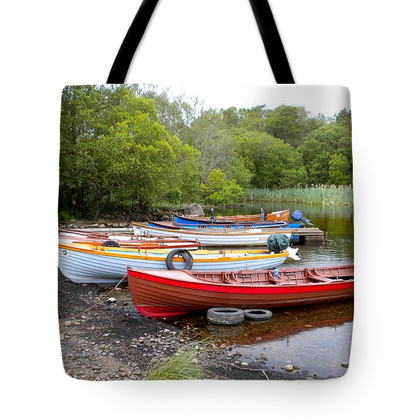 Ireland Boats 2 Tote Bag