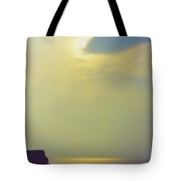 Ireland Giant's Causeway Ethereal Light Tote Bag