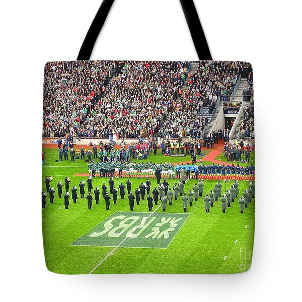 Ireland Vs France Tote Bag by Suzanne Oesterling