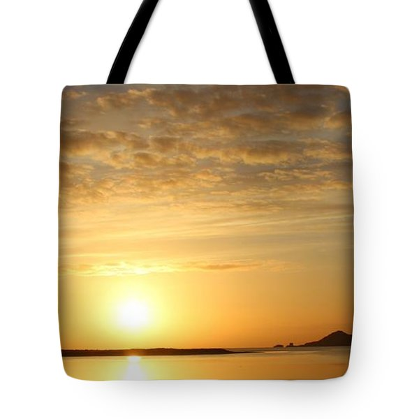 Irelands Eye At Dawn Tote Bag