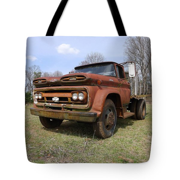 Tote Bag featuring the photograph Irene's Viking  by Joel Deutsch