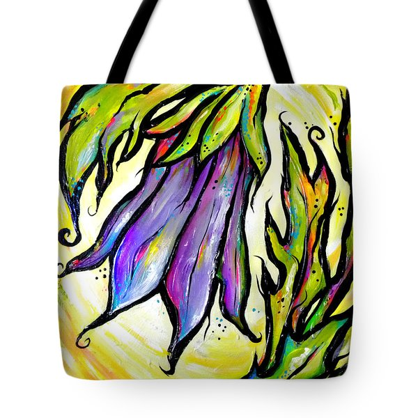 Iridescent Bell Tote Bag